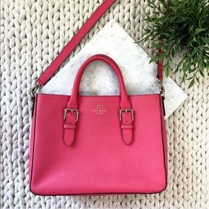 Kate Spade Hot Pink Classic Tote Satchel Purse